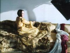 Mary McFadden at Home, New York, 1990s