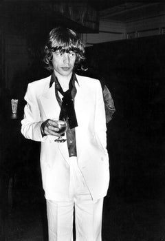Mick Jagger at Bianca Jagger's 30th birthday party at Studio 54