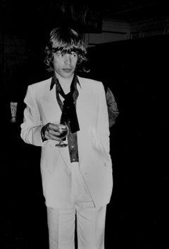 Mick Jagger at Bianca Jagger's 30th Birthday Party, Studio 54, 1977