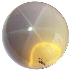 Rose Quartz Star Orb