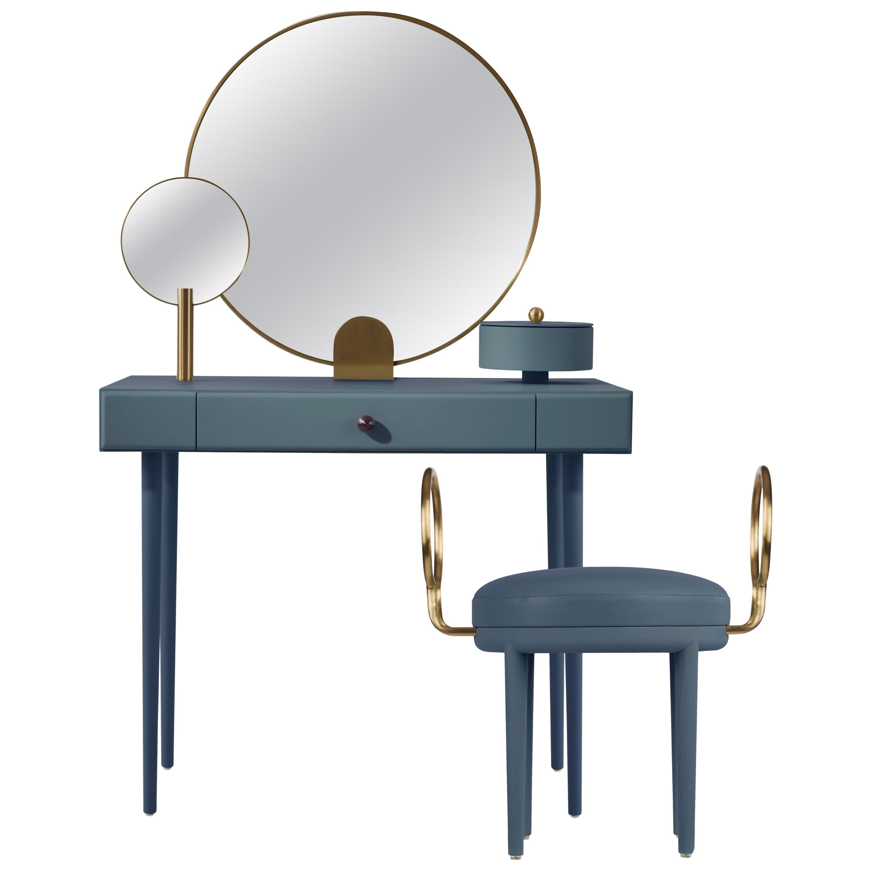 Rose Selavy Vanity Desk with Stool by Thomas Dariel