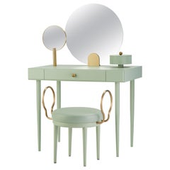 Rose Selavy Vanity Desk with Stool by Thomas Dariel