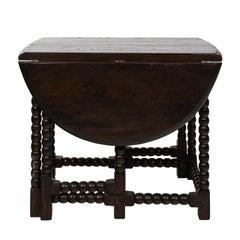 "Rose Tarlow Melrose House ""Abacus"" Drop Leaf Table, circa 2000"