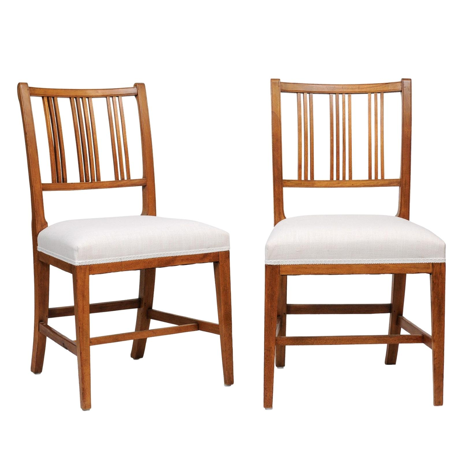 Regency Style Mahogany Dining Chair, Six or a Set