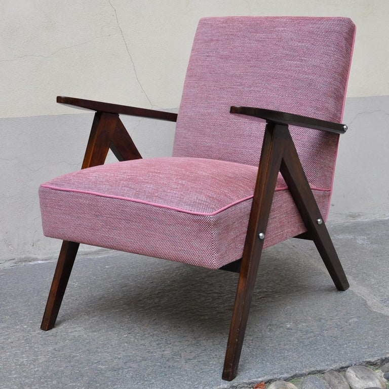 Mid-20th Century Rose Wow Armchair For Sale