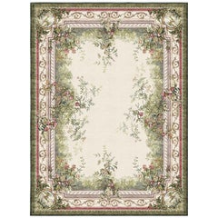 Rosemont - Floral Ornamental Hand Knotted Silk Rug