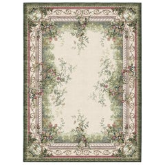 Rosemont Hand Knotted Wool and Silk 2.7 x 3.6m Rug