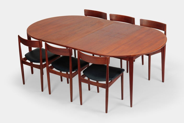 Rosengren Hansen Dining Table And 6 Chairs 1960s