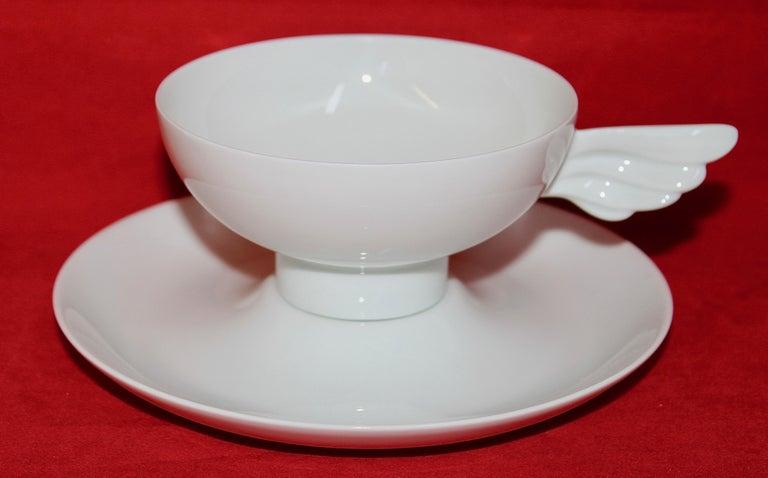 Rosenthal Designer Art Porcelain Tea Set for Six,
