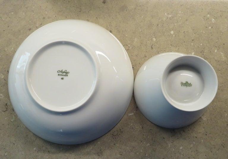 Rosenthal Form 2000 White Pattern Dinnerware - Raymond Loewy Set 70 Pcs Germany For Sale 2
