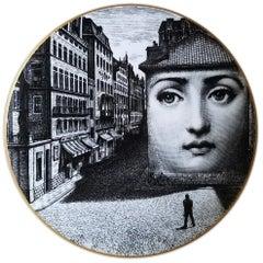 Rosenthal Fornasetti Temi e Variazioni Porcelain Motiv 5 Plate, 1980s