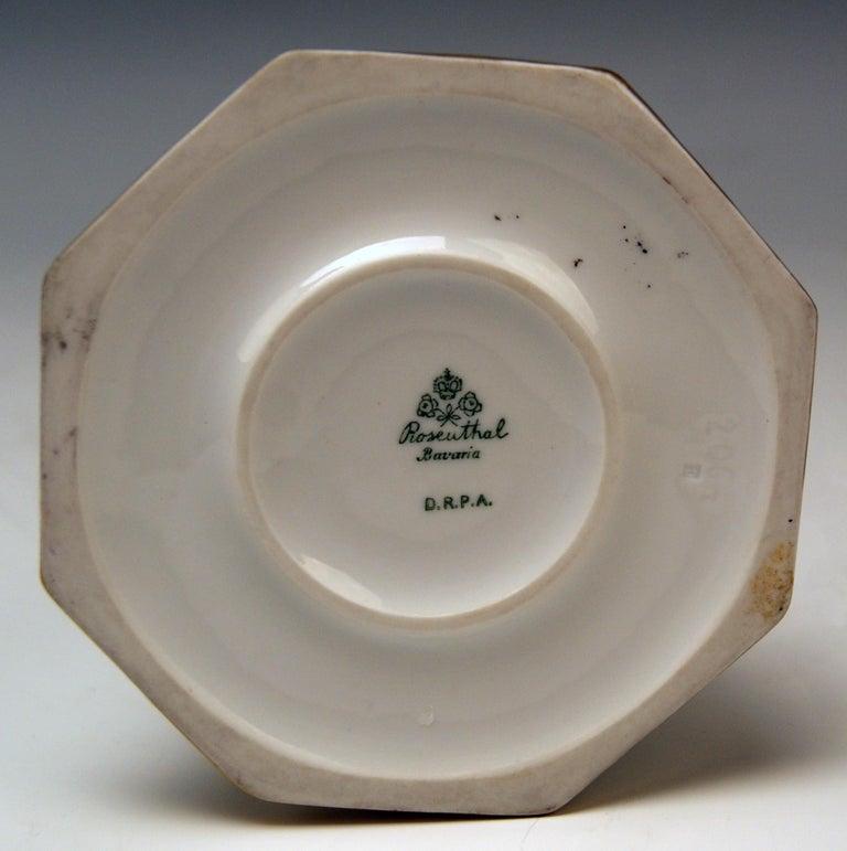 Porcelain Rosenthal Germany Lady Yvonne Dorothea Charol, circa 1930-1935 For Sale