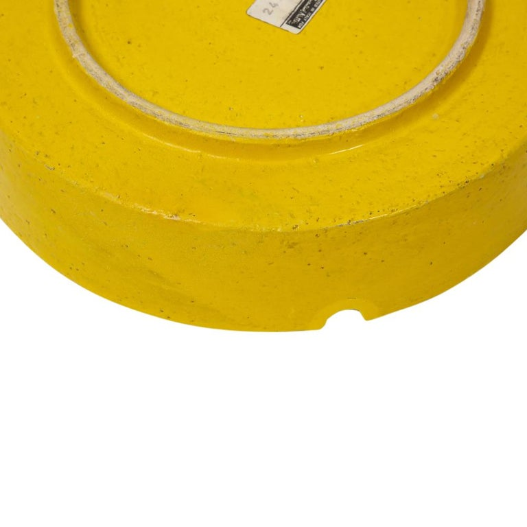Rosenthal Netter Ashtray, Ceramic, Yellow and Orange, Discs, Signed For Sale 4