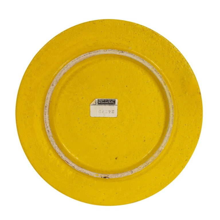 Rosenthal Netter Ashtray, Ceramic, Yellow and Orange, Discs, Signed For Sale 5