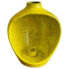Rosenthal-Netter Mid-Century Modern Decorative Ceramic Vase / Candle Holder