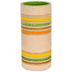 Rosenthal Netter Striped Italian Vase for Bitossi