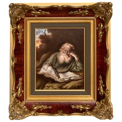 Rosenthal Painting on Porcelain of St. Jerome