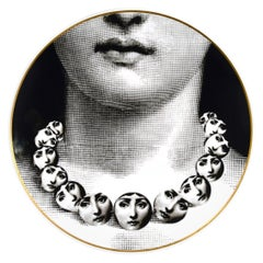 Rosenthal Piero Fornasetti Themes & Variation Plate Motiv 16, The Necklace
