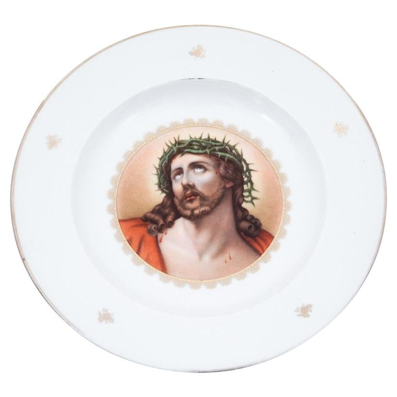 Rosenthal Plate with the Image of Jesus, Germany