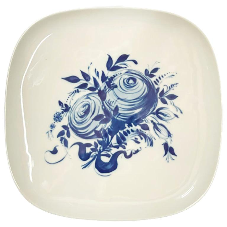 Rosenthal Porcelain Wall Plate by Bjorn Wiinblad, Germany, 1970s