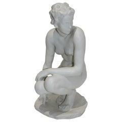 """Rosenthal Sculpture """"Die Hockende"""""""