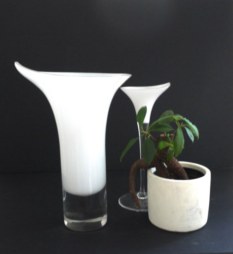 Late 20th Century  Rosenthal Studio, Germany Inspired by Calla Lily with Late 'One Piece' For Sale