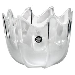 Rosenthal Studio-Linie Frosted Crystal Bowl