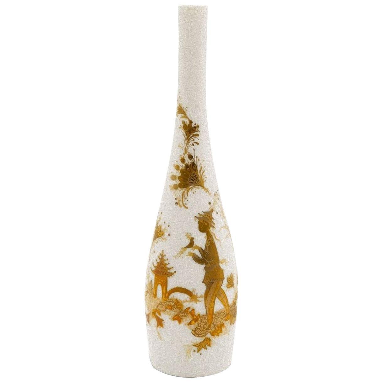 Rosenthal Vase, Bjorn Wiinblad for Rosenthal, Late 20th Century