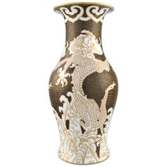 Rosenthal Vase in Hand Painted Porcelain, Chinese Style, 1930s-1940s