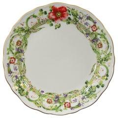 Rosenthal Versace, Flower Fantasy, Lunch/Appetizer Plate