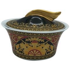 Rosenthal Versace Ikarus Medusa Sugar Bowl Design Paul Whimsical