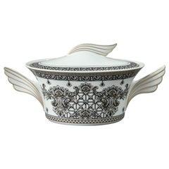 Rosenthal Versace, Marqueterie, Lidded Serving Bowl