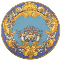 Rosenthal Versace Porcelain Charger Plate