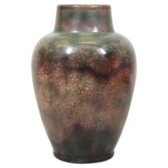 Roseville for Tiffany Chinese Form Pauleo Ceramic Vase