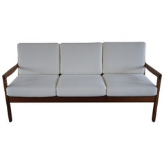Rosewood 3-Seater Sofa by Ole Wanscher for France & Søn, 1960s
