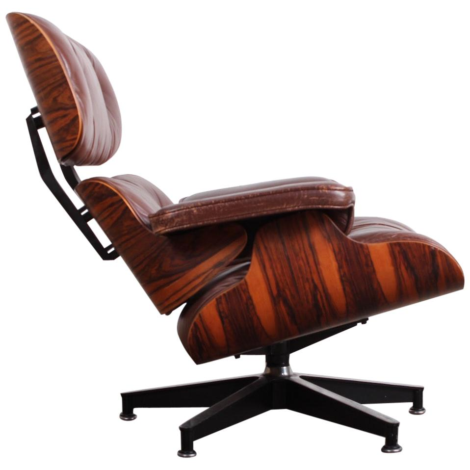 Rosewood 670 Lounge Chair by Charles Eames for Herman Miller