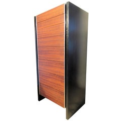 Rosewood and Ebonized Lingerie Chest by Glenn of California