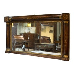 Rosewood and Marquetry Mirror, circa 1840