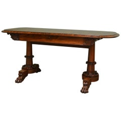 Rosewood Antique Sofa or Console Table