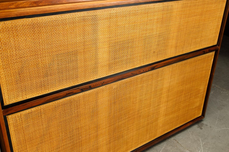 Rosewood 'Artist Spinet' Mid-Century Modern Piano by Kimball, c. 1960s, Signed For Sale 11