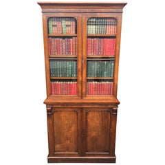 Rosewood Bookcase, English, circa 1860