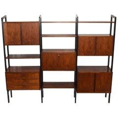 Rosewood Bookcase Storage Unit