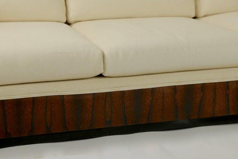 Mid-Century Modern Rosewood Box Sofa by Baughman for Thayer Coggin