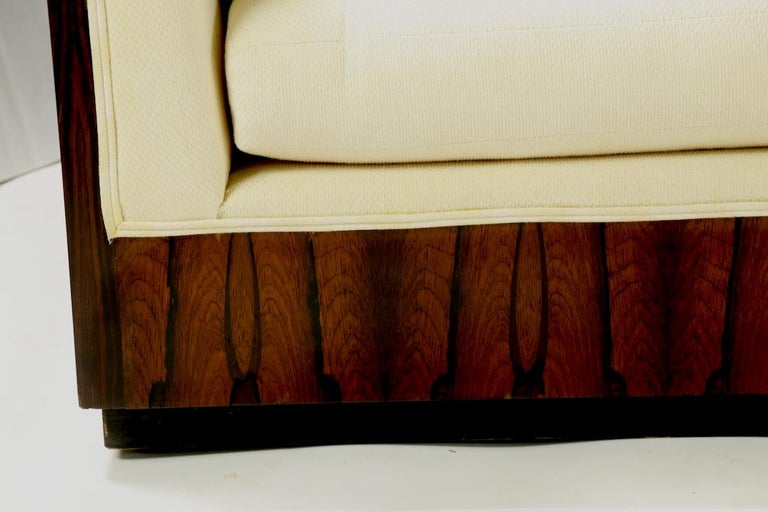 American Rosewood Box Sofa by Baughman for Thayer Coggin