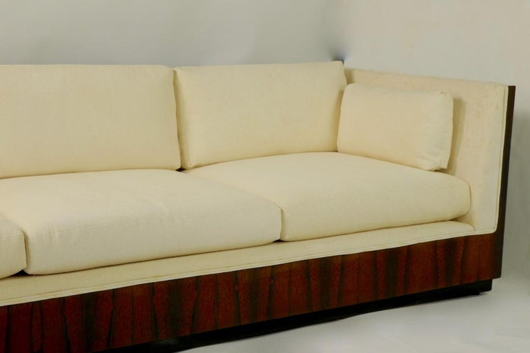 20th Century Rosewood Box Sofa by Baughman for Thayer Coggin