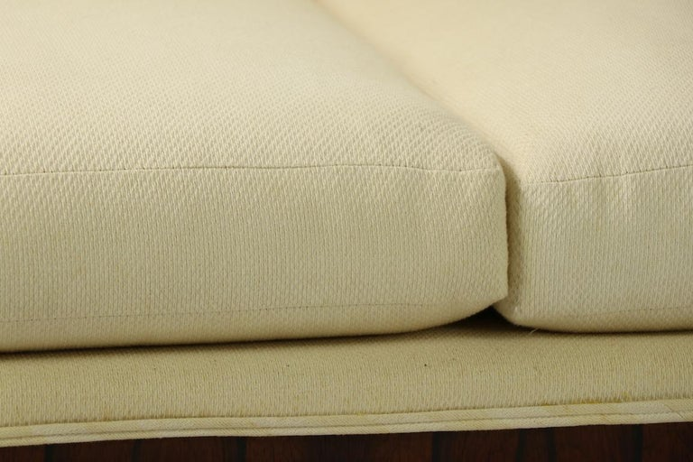 Upholstery Rosewood Box Sofa by Baughman for Thayer Coggin