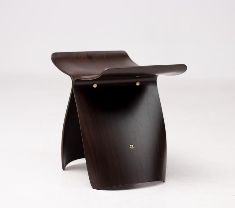 20th Century Rosewood Butterfly Stool by Japanese Designer Sori Yanagi