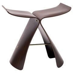 Rosewood Butterfly Stool by Japanese Designer Sori Yanagi