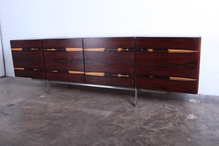 Rosewood Cabinet attributed to Ib Kofod-Larsen For Sale 6