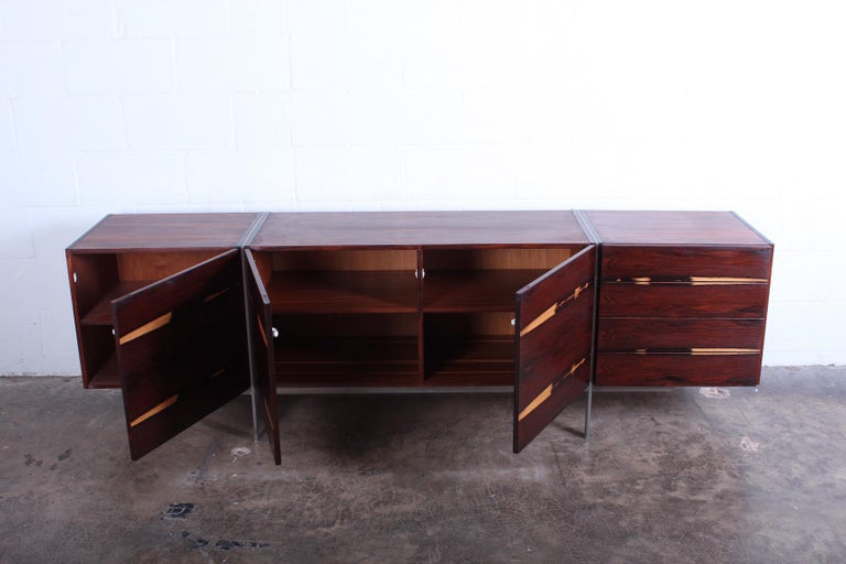 Rosewood Cabinet attributed to Ib Kofod-Larsen For Sale 7